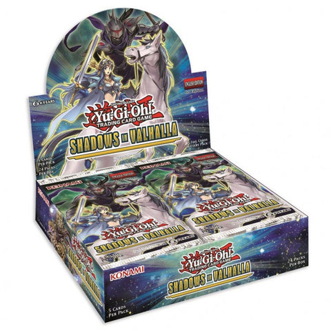 Yu-Gi-Oh! Shadows in Vallhalla Booster Pack