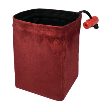Red King Dice Bag: Classic Red