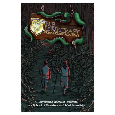 H.P. Lovecraft Preparatory Academy - Hardcover