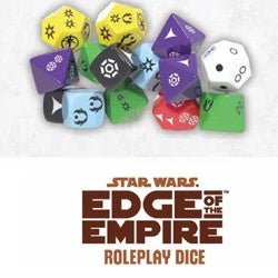 Star Wars - Edge Of The Empire RPG Roleplay Dice