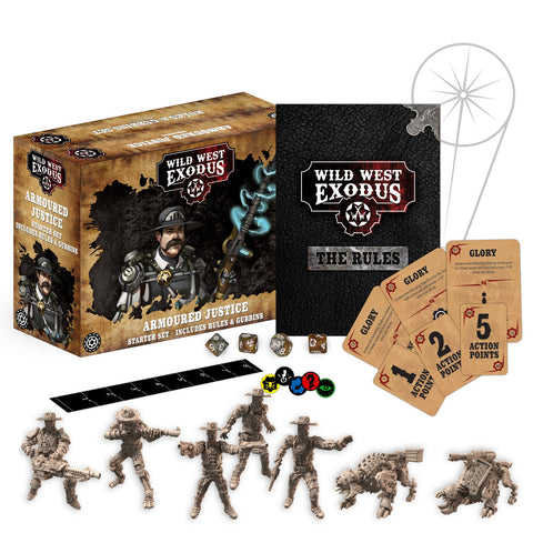 Wild West Exodus: Armoured Justice Starter Set