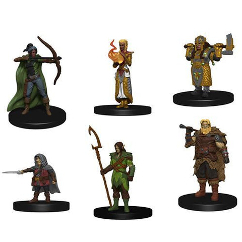 Icons of the Realms Starter Set (6 PC figures) prepainted [WZK72778]