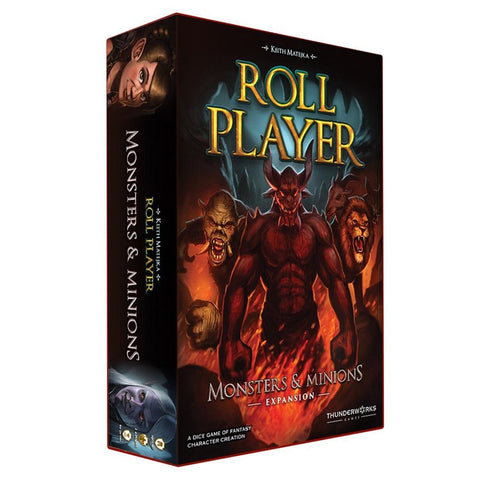 Roll Player Monsters and Minions Expansion