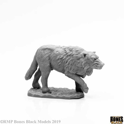 Bones Black: Winter Wolf [Reaper 44125]
