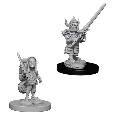 Nolzur Mini: W6 Male Halfling Fighter [WZK73386]