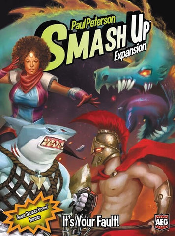 Smash Up It's Your Fault! Expansion