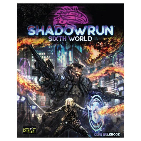 Shadowrun: 6E Core Rulebook