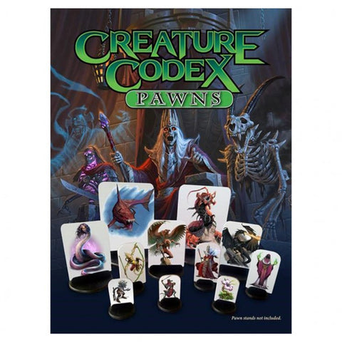 5E Creature Codex Pawns