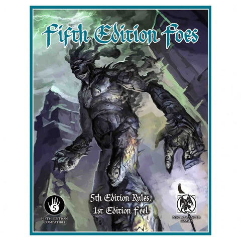 Fifth Edition Foes Softcover