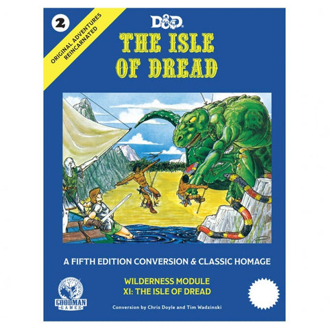Original Adventures Reincarnated #2: The Isle of Dread