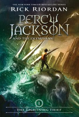 Percy Jackson & the Olympians #1- The Lightning Thief (Percy Jackson & the Olympians, 1) [Riordan, Rick]