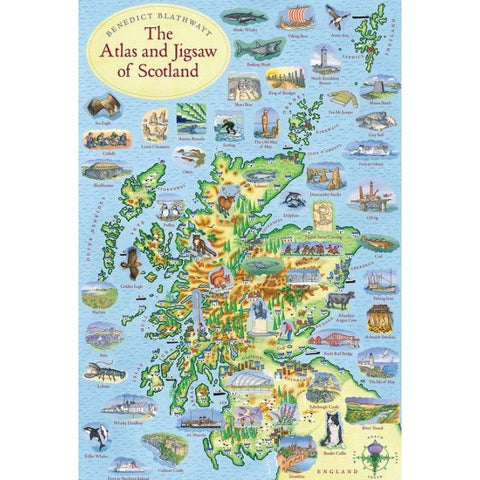 The Atlas and Jigsaw of Scotland