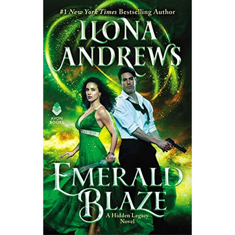 Emerald Blaze (Hidden Legacy, 5) [Andrews, Ilona]