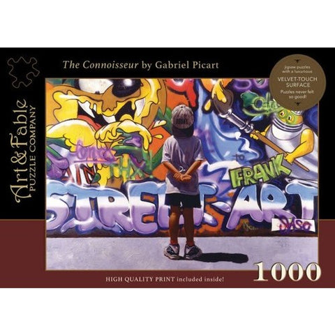 The Connoisseur: 1000 Piece Jigsaw Puzzle [With Print]