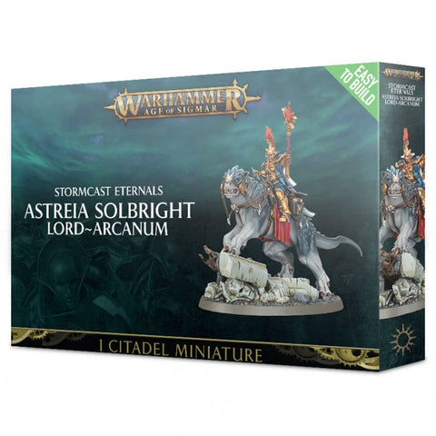 Age of Sigmar: Stormcast Eternals, Astreia Solbright Lord-Arcanum