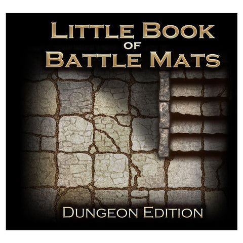 Little Book of Battle Mats Dungeon Ed