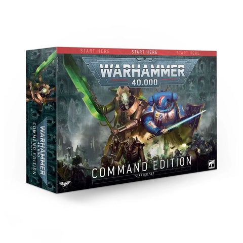 Command Edition Starter Set- Warhammer 40,000