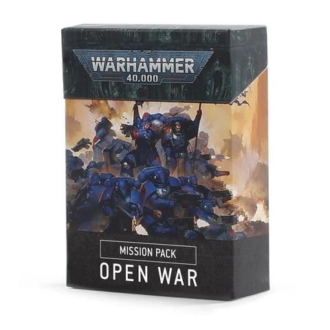 Open War Mission Cards - 40k, 9th Edition