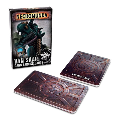 Necromunda: Van Saar Gang Tactics Cards (Second Edition)