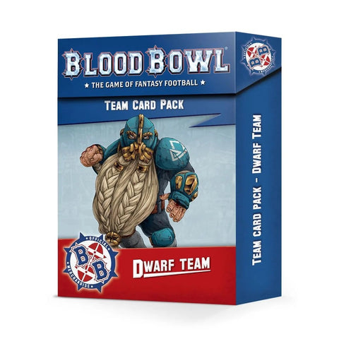 Dwarf Team Card Pack