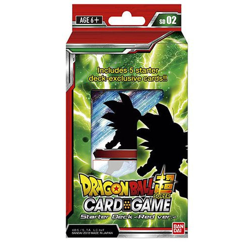 Dragon Ball Super CCG: Extreme Evolution Starter Deck