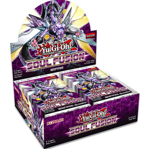 Yu-Gi-Oh! TCG: Soul Fusion Booster Box 24 packs