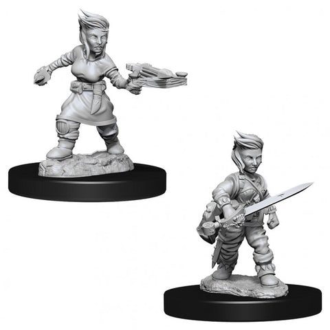 PF Deep Cuts Mini: W8 Halfling Female Rogue [WZK73695]