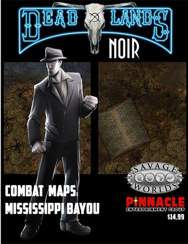 Deadlands Noir Maps Mississippi Bayous