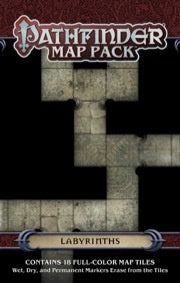 Pathfinder Map Pack Labyrinths [PZO4063]