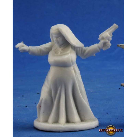 Sister Maria (nun with a gun) human female [Reaper 80028]