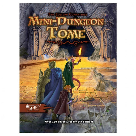 Mini-Dungeon Tome: 5E D&D edition