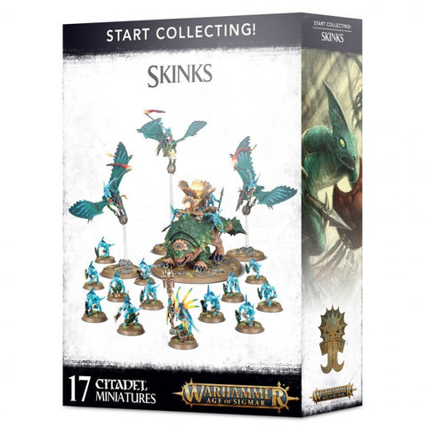 Start Collecting! Skinks - Age of Sigmar