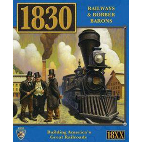 1830: Building America's Great Railroads