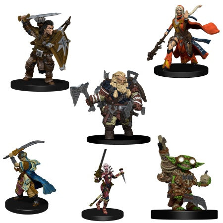 PF Minis: Iconic Heroes Evolved (6 PC figures) prepainted [WZK73146]