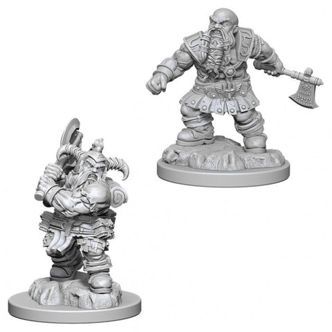 Nolzur Mini: W6 Male Dwarf Barbarian [WZK73391]