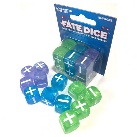 Fate Dice: Accelerated Core