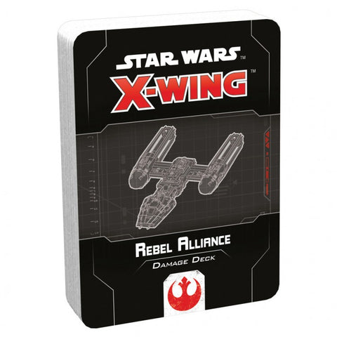 Star Wars X-Wing 2E: Rebel Alliance Damage Deck