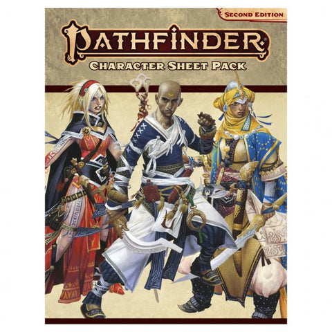 Pathfinder Character Sheet Pack (P2E)
