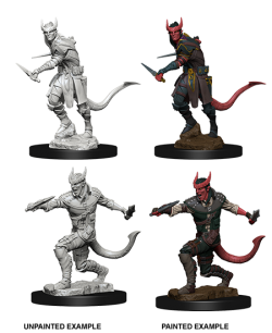 Nolzur Mini: W5 Tiefling Male Rogue [WZK73338]