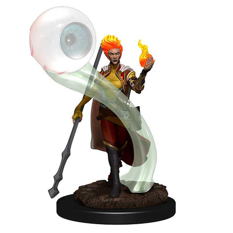 D&D Icons of the Realm: Premium: Fire Genasi Wizard Female [WZK93046]