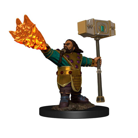 D&D Icons of the Realm: Premium: Dwarf Cleric Male [WZK93049]