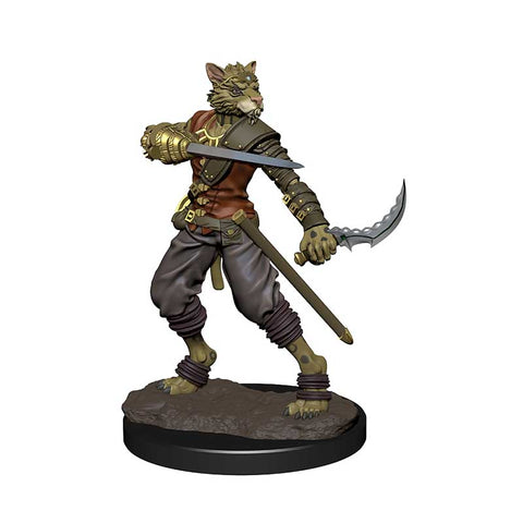 D&D Icons of the Realm: Premium: Tabaxi Rogue Male [WZK93050]