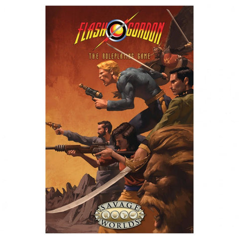 Flash Gordon: RPG; Savage Worlds