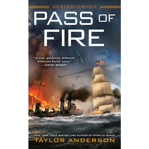 Pass of Fire (Destroyermen, 14) [Anderson, Taylor]
