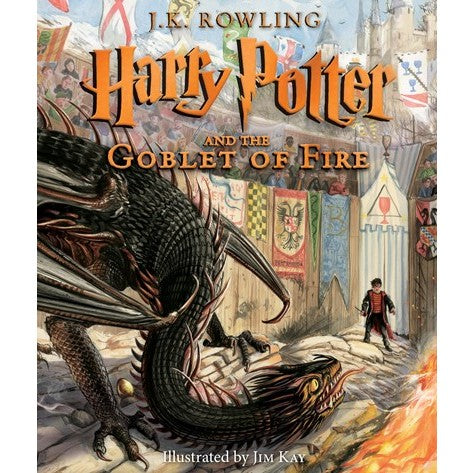 Harry Potter and the Goblet of Fire: Illustrated Edition (Harry Potter, 4) [Rowling, J. K.]