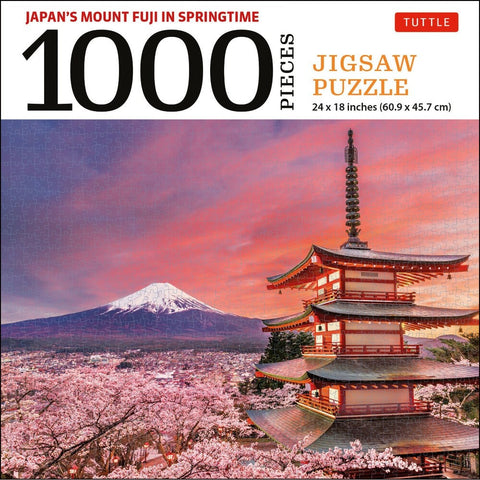 Mount Fuji Japan Jigsaw Puzzle - 1,000 Pieces