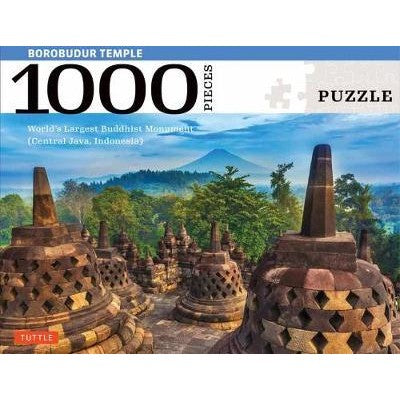 Borobudur Temple, Indonesia Jigsaw Puzzle