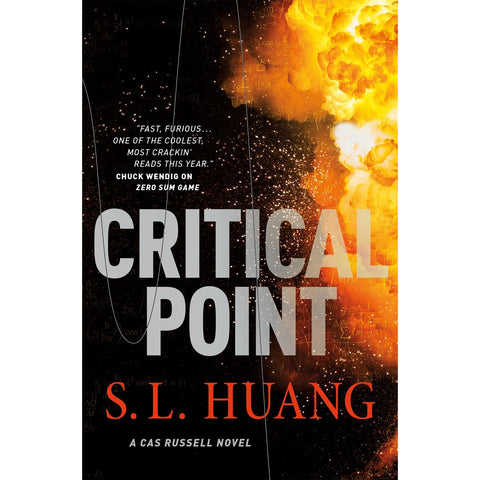 Critical Point ( Cas Russell, 3 ) [Huang, S. L.]