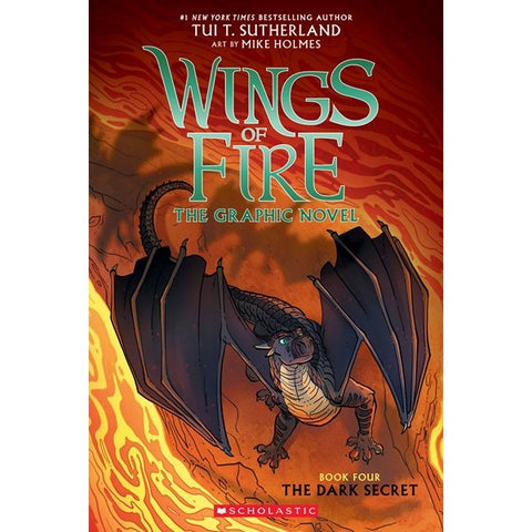The Dark Secret (Wings of Fire Graphic Novel, 4) [Sutherland, Tui T.]