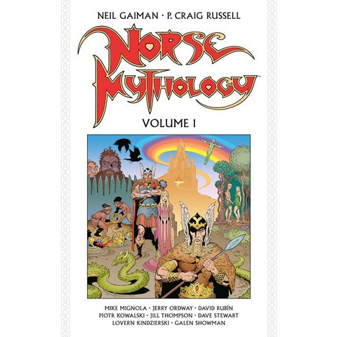 Norse Mythology Volume 1 [Gaiman, Neil and Russell, P Craig]
